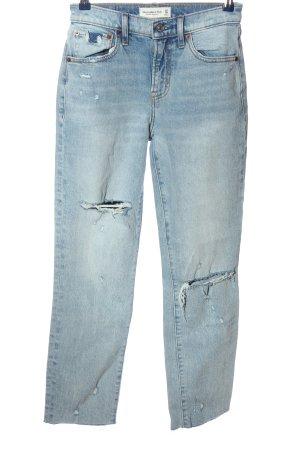 Abercrombie & Fitch Jeans boyfriend bleu style décontracté