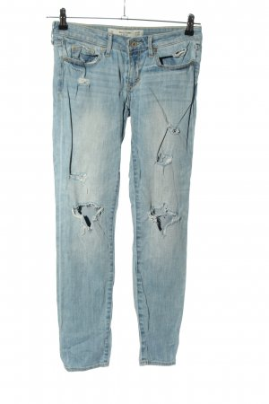 Abercrombie & Fitch Boyfriend jeans blauw casual uitstraling