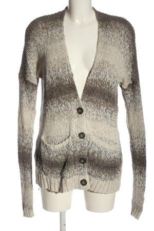 Abercrombie & Fitch Cardigan wollweiß Farbverlauf Casual-Look