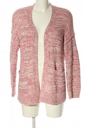 Abercrombie & Fitch Cardigan weiß-pink meliert Casual-Look
