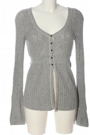 Abercrombie & Fitch Cardigan light grey flecked casual look