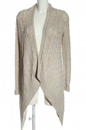 Abercrombie & Fitch Cardigan wollweiß meliert Casual-Look
