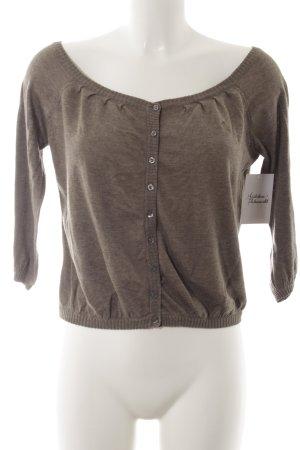 Abercrombie & Fitch Cardigan graubraun schlichter Stil