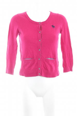 Abercrombie & Fitch Cardigan himbeerrot Casual-Look