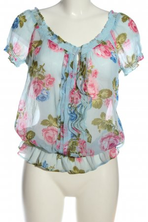 Abercrombie & Fitch Carmen-Bluse Blumenmuster Casual-Look