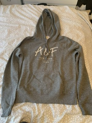 Abercrombie & Fitch Jersey con capucha gris claro