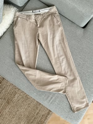 Abercrombie & Fitch Chino beige Hose 34 XS 2R