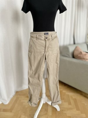 Abercrombie & Fitch Chinos beige cotton