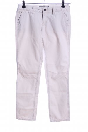 Abercrombie & Fitch Chinohose hellgrau Casual-Look