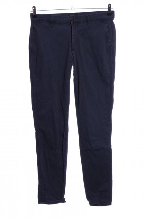 Abercrombie & Fitch Chinohose blau Casual-Look