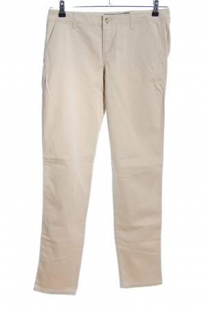 Abercrombie & Fitch Chinohose creme Casual-Look