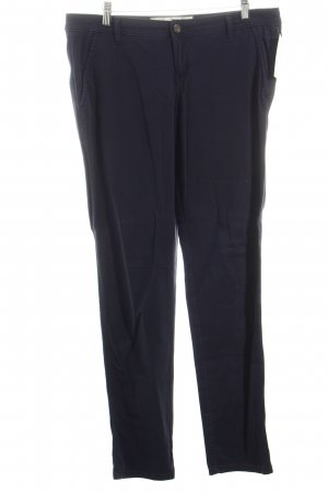 Abercrombie & Fitch Chinohose dunkelblau Casual-Look