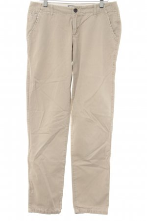 Abercrombie & Fitch Chinohose hellbeige Casual-Look