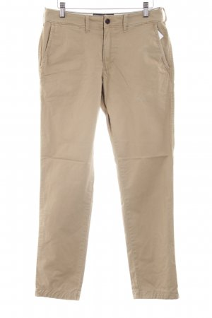 Abercrombie & Fitch Chinohose wollweiß Casual-Look