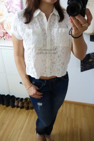 Abercrombie & Fitch Blouse wit
