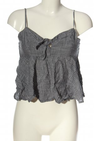 Abercrombie & Fitch Cropped Top hellgrau Allover-Druck Casual-Look