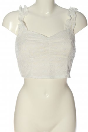 Abercrombie & Fitch Cropped top wolwit elegant