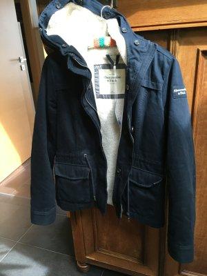 Abercrombie & Fitch Double Jacket black