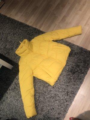 Abercrombie & Fitch Donsjack geel