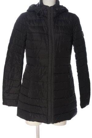 Abercrombie & Fitch Daunenjacke schwarz Steppmuster Casual-Look