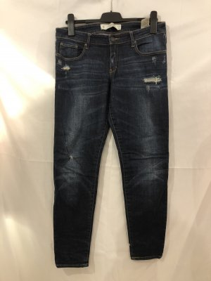 Abercrombie & Fitch Tube Jeans dark blue