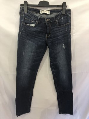 Abercrombie & Fitch Tube Jeans blue-dark blue