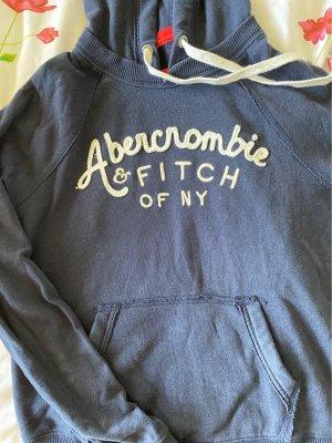 Abercrombie & Fitch dunkelblauer Kapuzenpullover
