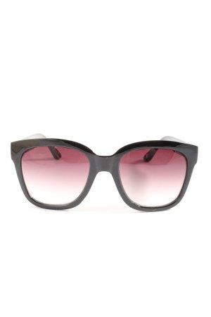 Abercrombie & Fitch Hoekige zonnebril zwart casual uitstraling