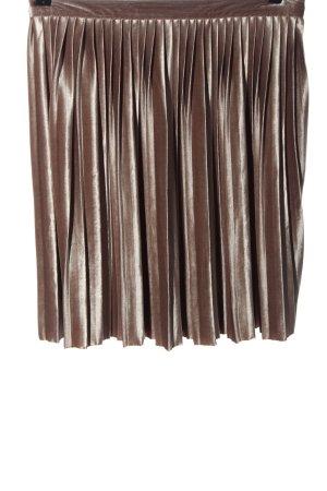 Abercrombie & Fitch Plisowana spódnica brązowy Elegancki