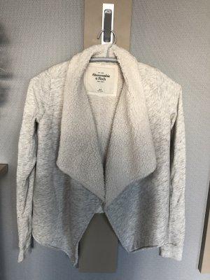 Abercrombie & Fitch Fur Jacket multicolored cotton