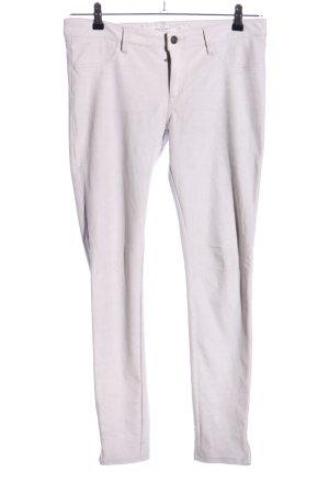 Abercrombie & Fitch Five-Pocket-Hose hellgrau Casual-Look