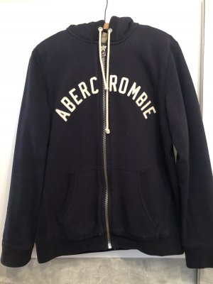 Abercrombie & Fitch Fur vest dark blue