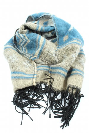 Abercrombie & Fitch Fringed Scarf striped pattern casual look