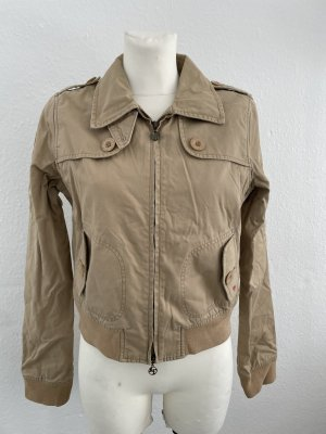 Abercrombie & Fitch Giacca corta beige-color cammello