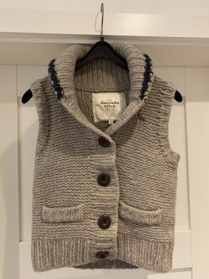 Abercrombie & Fitch Gr. M 38 Weste Wolle