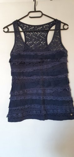 Abercrombie & Fitch Muscle Shirt dark blue