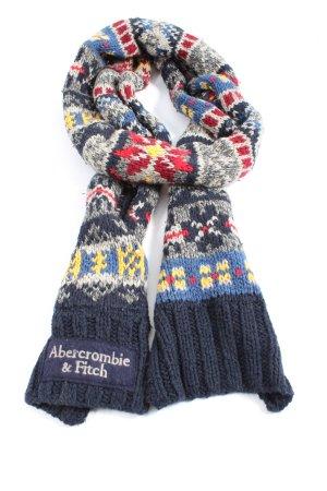 Abercrombie & Fitch Bufanda de ganchillo multicolor look casual