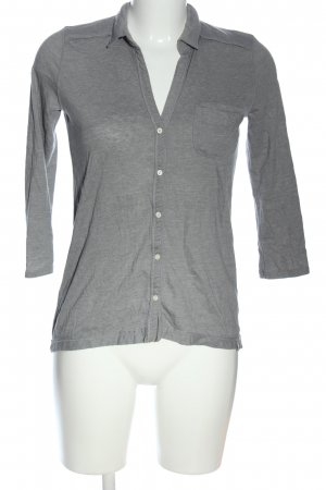 Abercrombie & Fitch Blusa-camisa gris claro moteado look casual