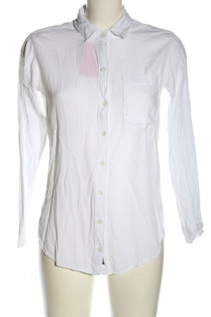 Abercrombie & Fitch Hemd-Bluse weiß Business-Look