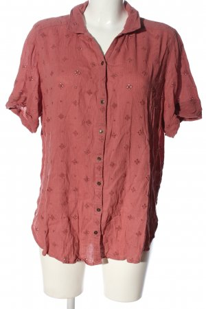 Abercrombie & Fitch Hemd-Bluse pink Motivdruck Casual-Look