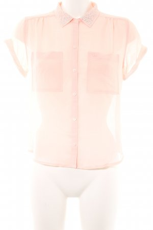 Abercrombie & Fitch Hemd-Bluse apricot Casual-Look