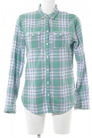 Abercrombie & Fitch Hemd-Bluse Karomuster Casual-Look
