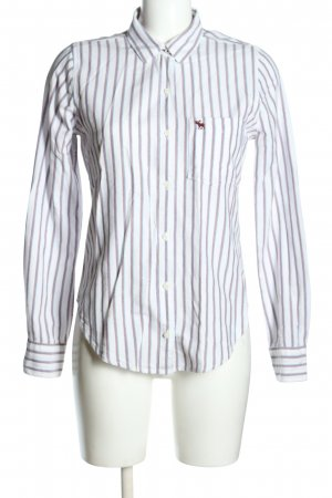 Abercrombie & Fitch Hemd-Bluse Streifenmuster Casual-Look