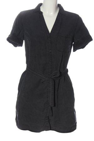 Abercrombie & Fitch Robe chemise noir style décontracté