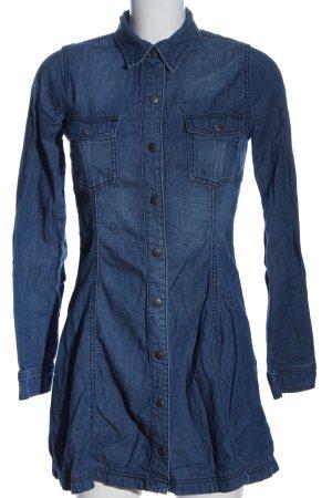 Abercrombie & Fitch Robe chemise bleu style décontracté