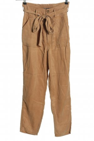 Abercrombie & Fitch High-Waist Hose braun Casual-Look
