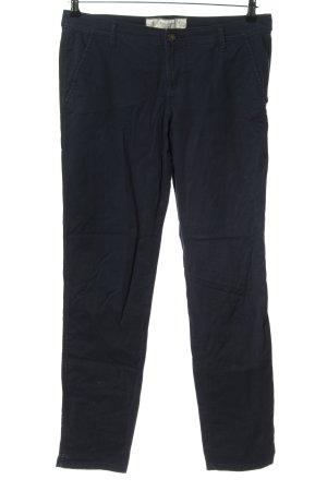 Abercrombie & Fitch Spodnie z wysokim stanem czarny W stylu casual