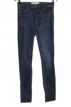 Abercrombie & Fitch High Waist Jeans blau Casual-Look
