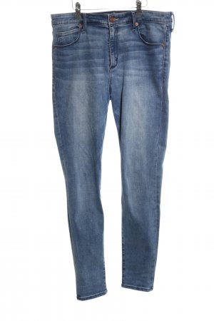 Abercrombie & Fitch Hoge taille jeans blauw casual uitstraling