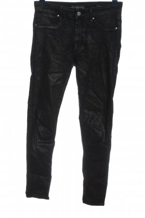Abercrombie & Fitch High Waist Jeans schwarz Casual-Look